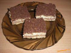 obr.postup... Something Sweet, Nutella, Tiramisu, Cake Recipes, Ethnic Recipes, 35, Hampers, Easy Cake Recipes, Tiramisu Cake