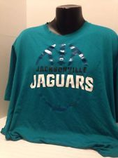 NFL Jacsonville Jaguars, Nike Dri-fit, short sleeve t-shirt, aqua, men's 4xl