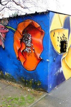 street art  lotus