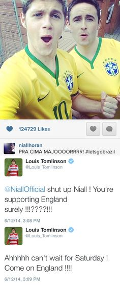"""SHUT UP NIALL"" First the band, now the team. C'mon Niall #GetWithIt"