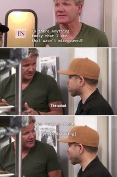 That time he said what everyone else were thinking: 11 Times Gordon Ramsay Didn't Have A Heart And 11 Times He Surprisingly Did Funny Relatable Memes, Funny Posts, Funny Quotes, Stupid Memes, Stupid Funny, Funny Stuff, Random Stuff, Freaking Hilarious, Gordon Ramsay Funny