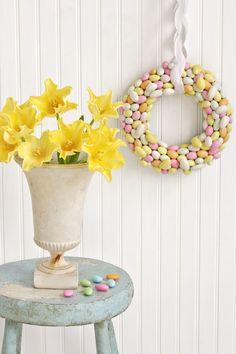 Almond Joy Wreath  - CountryLiving.com