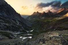 french alps on Behance