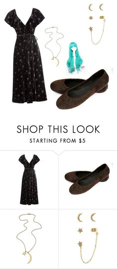 """moon and stars"" by monica-elena-gurban on Polyvore featuring Valentino, Accessorize and Coshome"
