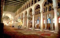 mezquita de damasco omeya (interior)