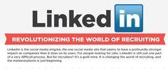 INFOGRAFICA :  l'utilizzo di Linkedin per il recruiting in azienda