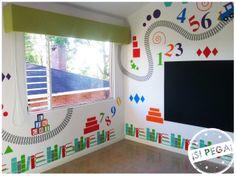 Diseño personalizado para cuarto de niño. STIKA ¡Si Pega!