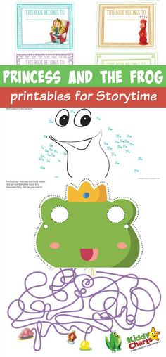 Princess and the Frog is one of my favourite stories, and we have some great free resources for you to use alongside reading the story with the kids. Sharing stories with children is a great thing to do, and if you've got activities alongside that, even better!