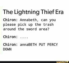 Percabeth in #TheLightningThief | #PercyJackson #AnnabethChase