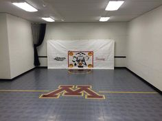 Here's another space we just completed. Extra garage stall? Unused area in basement? Turn it into the ultimate hockey training space! Give your kids the home court advantage! ‪#‎hockeyfans‬ ‪#‎homecourtadvantage‬