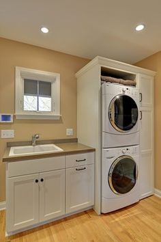 Image result for laundry bathroom small