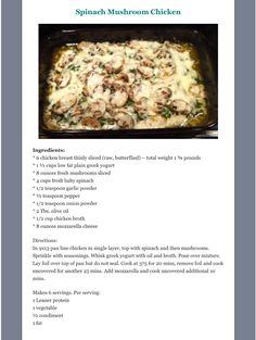 icu ~ Pin by Joy Purvis on OPTA-Recipes in 2019 Low Sugar Recipes, Low Calorie Recipes, Keto Recipes, Medifast Recipes, Sugar Foods, Cooking Recipes, Light Recipes, Lean Protein Meals, Lean Meals