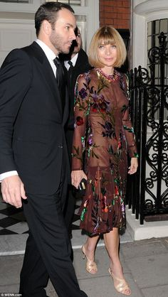 Tom Ford and Anna Wintour