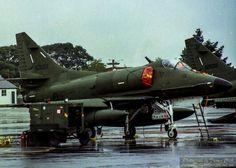 A4K Skyhawk ex RNZAF in Christchurch 2000