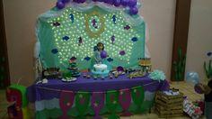 Sirenita party little mermaid