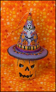 Just Nan - JN216 Hagatha's Hats • Counted Thread Cross Stitch Designs from Just Nan
