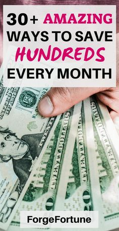 30+ ways to save money every month. Saving money is no big deal if you have the right tips. Check out this post and learn how to save money every month using some simple ways. #savemoney #Savingmoneytips #frugallivingideas