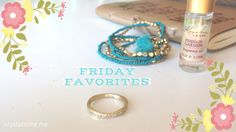Friday Favorites - t