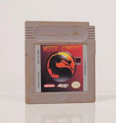 1993 Mortal Kombat Gameboy Game Cartridge! Nintendo Video Game Midway 1990s Made in Japan Vintage Gaming by ThePopVault on Etsy https://www.etsy.com/listing/492491210/1993-mortal-kombat-gameboy-game