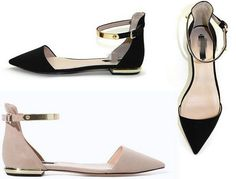 Womens Oxford Roma Pointy Comfort Ankle Strap Pumps Sandals Shoes US 8 Apricot in Clothing, Shoes & Accessories, Women's Shoes, Sandals & Flip Flops | eBay
