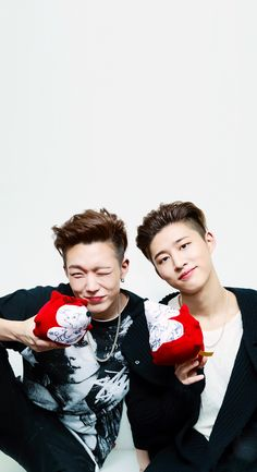 iKON DoubleB Wallpaper  Cr: HeartBeat9596