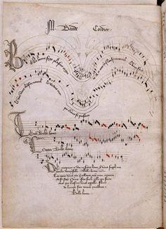 Clarimonde still receives love letters in the form of songs and poems from her secret admirers///Recueil de ballades, de motets et de chansons: Belle, bonne, sage (15e siècle)  @Dan Uyemura Soule