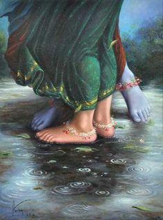 The divine feet!:)