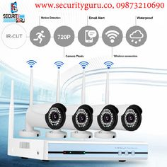 Delhi's top Security and Surveillance Systems Service Provider at sensitive price. Wireless Camera, Surveillance System, Security Camera, Top, Backup Camera, Spy Cam, Crop Shirt, Shirts