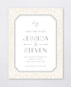 Morris Save the Date Card
