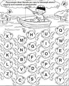 CLASA NOASTRĂ: [ FOTO ] Detectivii literelor Bird Coloring Pages, Alphabet, Preschool, Dali, Gabriel, Ideas, Learning, Students, Autism