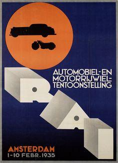 Automobiel- en motorrijwieltentoonstelling - 1935