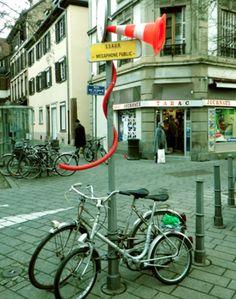 Megaphone public DIY Urbanism Riviere 2
