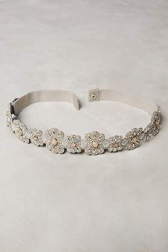Nasturtium Belt - anthropologie.com Cotton, elastic, polyester Plastic bead and jewel detail Imported Style No. 36248391