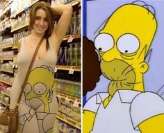Who wore it better?   funny pictures