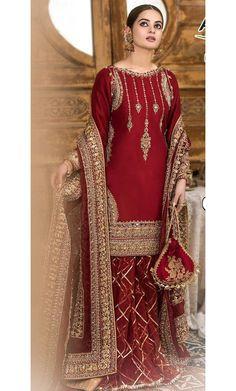 Beautiful Pakistani Dresses, Pakistani Formal Dresses, Pakistani Dresses Online, Shadi Dresses, Pakistani Dress Design, Beautiful Dresses, Indian Dresses, Indian Outfits, Latest Bridal Dresses