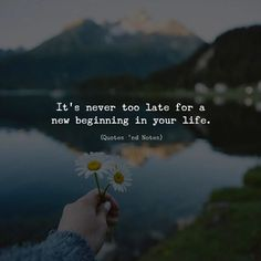 Its never too late for a new beginning in your life. via (http://ift.tt/2iUsStF)