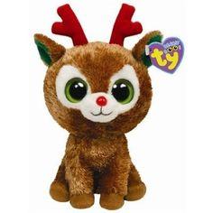 Amazon.com: Ty Beanie Boos Comet - Reindeer: Toys & Games