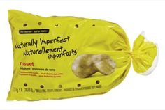 """A Canadian grocery chain just started selling a line of """"ugly"""" apples and potatoes for 30% less. If you'd like this idea, let your grocery store know that you'd like to see this happen in the U.S.! #ivaluefood #foodwaste"""