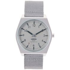 Lexon Watch - Scout - Silver by Lexon Watches -- Awesome products selected by Anna Churchill Game Design, Lexon Design, Metal Fashion, Big Game, Cool Watches, Silver, Accessories, Churchill, Anna