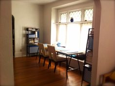 Get Home Decorating: LINNMON and LERBERG, A Long and Narrow Dining Table