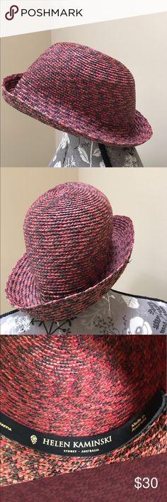 Helen Kaminski Raffia Hat Helen Kaminski Raffia Sun Hat. Excellent like new condition.  Super cute hat to wear around town this summer. Helen Kaminski Accessories Hats