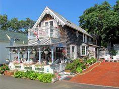 Oak Bluffs Gingerbread Cottages 8 Photograph  - Oak Bluffs Gingerbread Cottages 8 Fine Art Print