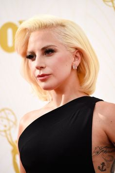 Pin for Later: Zoom In on Every Stunning Beauty Look From the Emmys Red Carpet Lady Gaga
