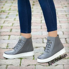 Grey Sneakers #gri #spor #ayakkabı