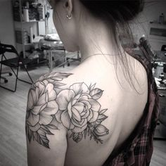 Alex Tabuns @alex_tabuns #tattoo #flowers ...Instagram photo   Websta