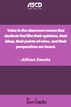 Learn how to enhance student voice and the other elements of effective personalized learning. Student Voice, Instructional Design, The Voice, Leadership, Teacher, Education, Feelings, Learning, Character