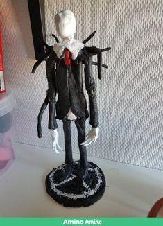 SlenderMan Statue  Made by xTWISTEDxARTISTx