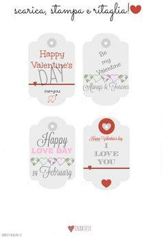 inartesy- Handmade, Food, Graphics, Lifestyle: ♡ Etichette stampabili per San Valentino