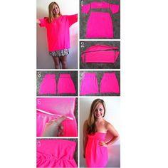 I did it Creative Fashion � Dress DIY Tutorial