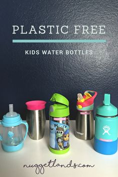 2afad865b8 5 Plastic-Free Kids Water Bottles - A Product Review